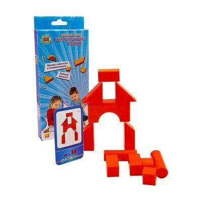 Рыжие кубики - конструктор-балансир (с заданиями PDF)