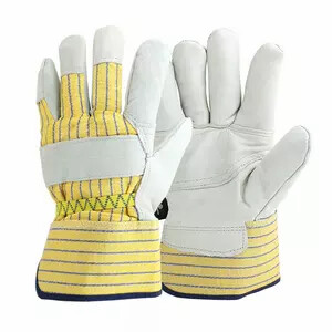 YELLOW STRIPES fitters work gloves