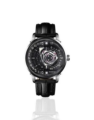 "B022 ""Rotary"" (Black) Automatic Wristwatch"