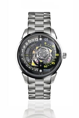 """B022 """"Rotary"""" (Titanium) Automatic Wristwatch (with Bracelet)"""