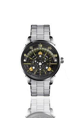 """B023 """"The Da Vinci Code"""" (Grey) Automatic Wristwatch"""