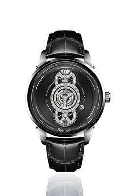 "B012B ""Space Traveler"" (Black) Automatic Wristwatch"