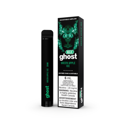 Ghost Max - Green Apple Ice