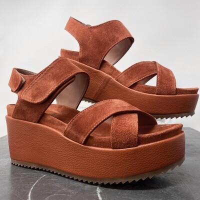Homers 19731 Crosta Brandy Platform Sandal
