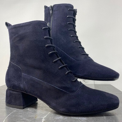 Homers 19854 Crosta Sirena Dark Blue Lace-Up Boot