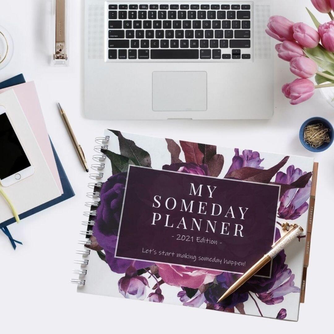 My Someday Planner 2021: Business Organizer & Social Media Planner