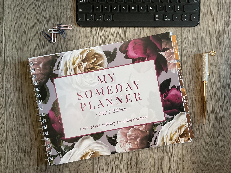 My Someday Planner 2022: Business Organizer & Social Media Planner