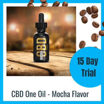 CBD One Oil - Mocha Flavor- 15 Day Trial (US)