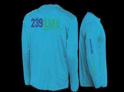 239Life Atomic Blue Logo Shirt