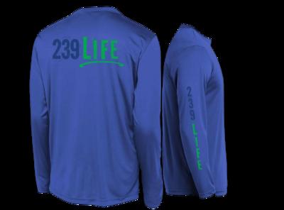 239Life Royal Blue Logo Shirt