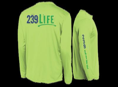239Life Lime Shock Logo Shirt