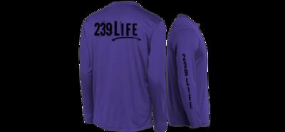 239Life Purple Logo Shirt