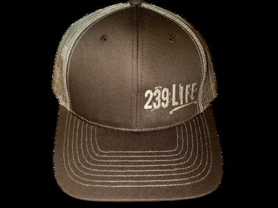 Brown and Tan Logo Hat