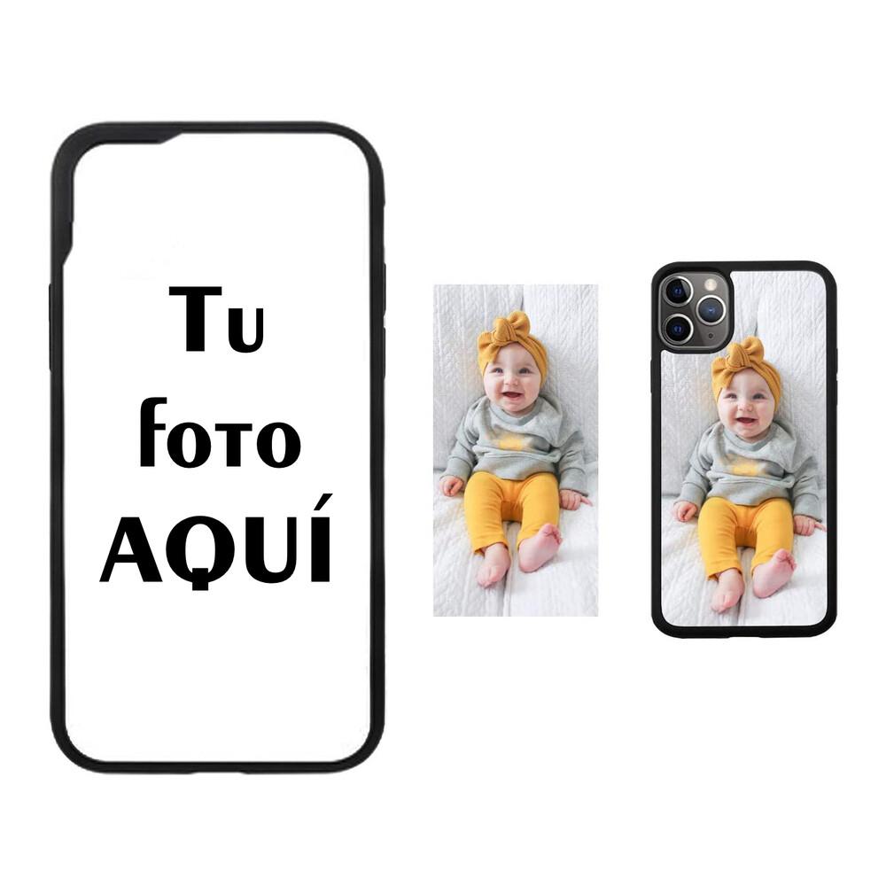 Estuche EL REY Sublimación tpu negro iPhone 7 / 8