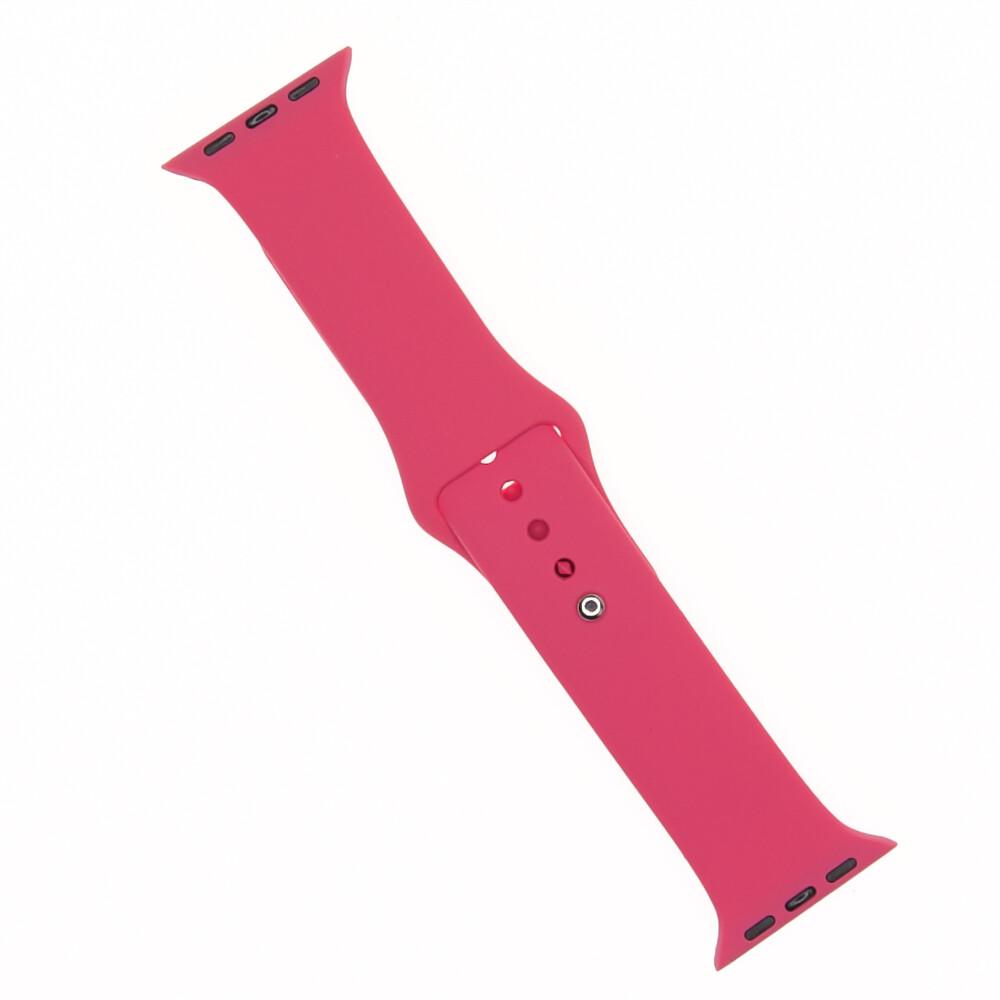 EL REY Pulsera Silicon   Rose Red 38/40 Mm
