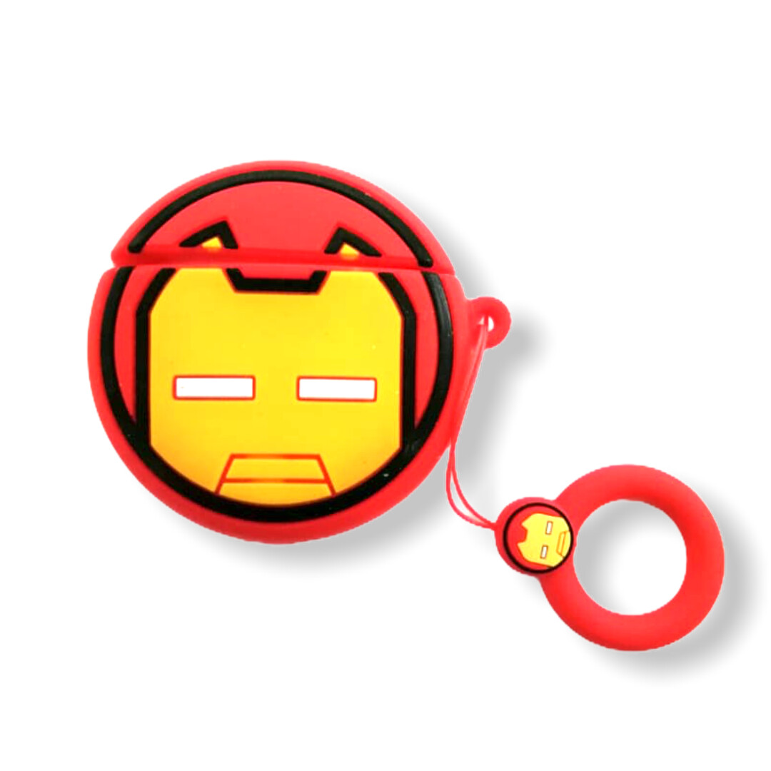 Estuche GEN Airpods generacion 1- 2 - Iron Man