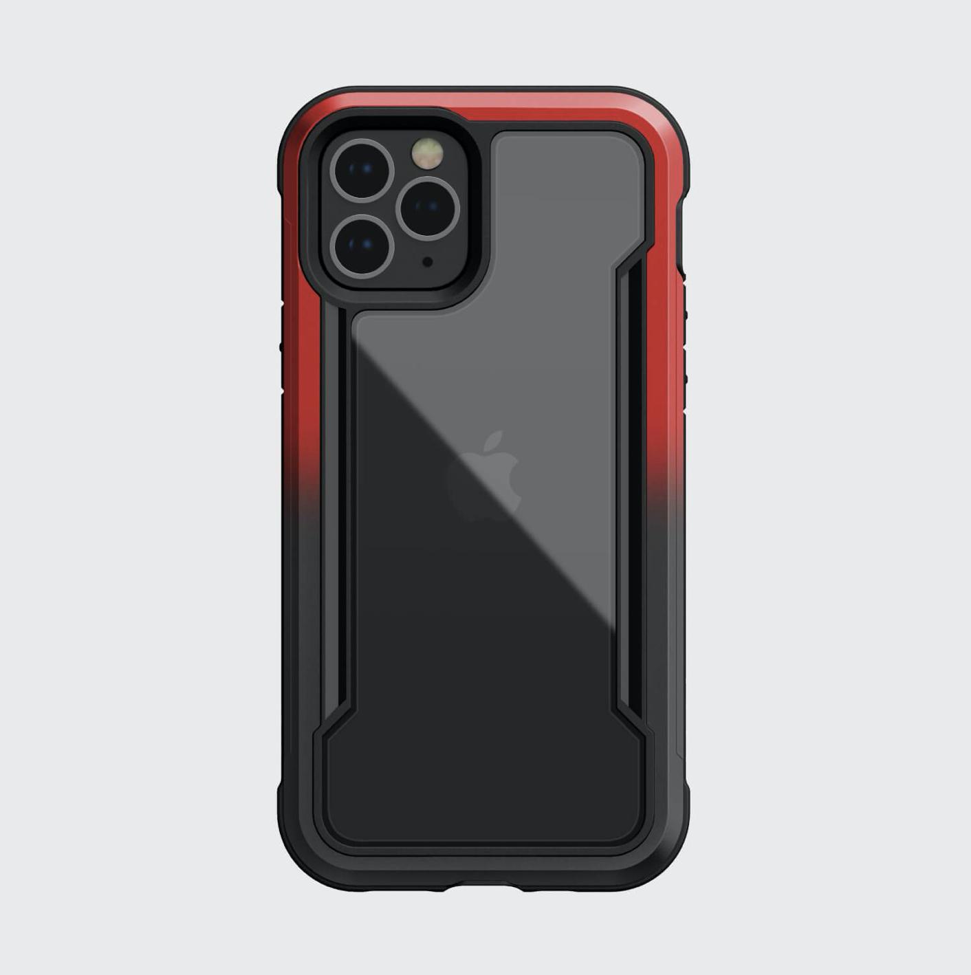 Estuche XDORIA Raptic Shield Negro / Rojo IPHONE 12 MINI 5.4