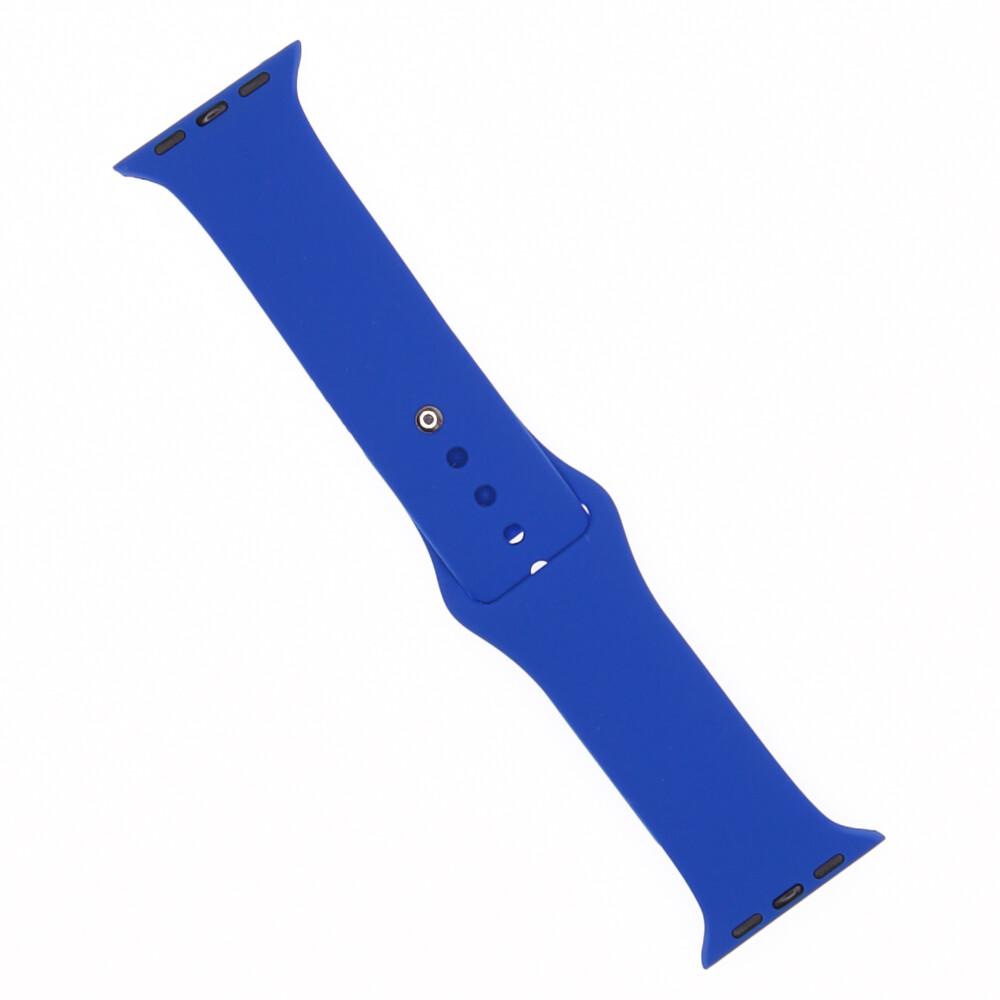EL REY Pulsera Silicon   Azul 38/40 Mm