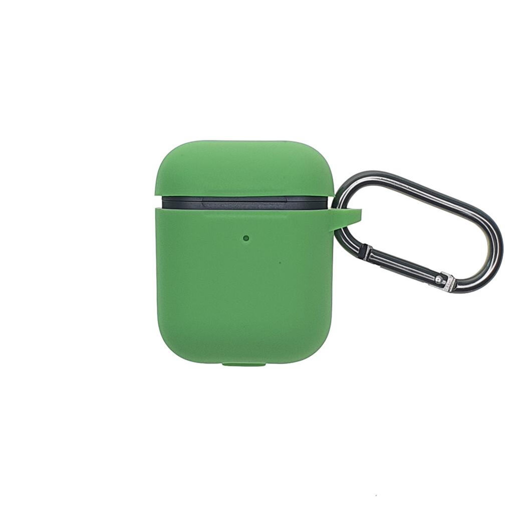 Estuche EL REY Silicon Grueso Para Airpods 1/2 Verde-