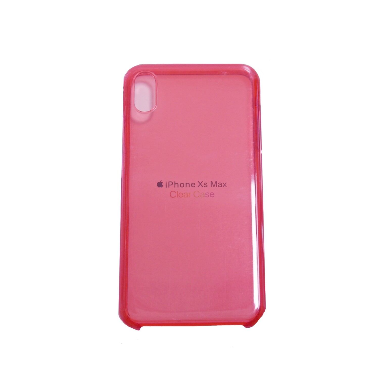 Estuche APPLE Transparente Fucsia IPHONE XS MAX (6.5)