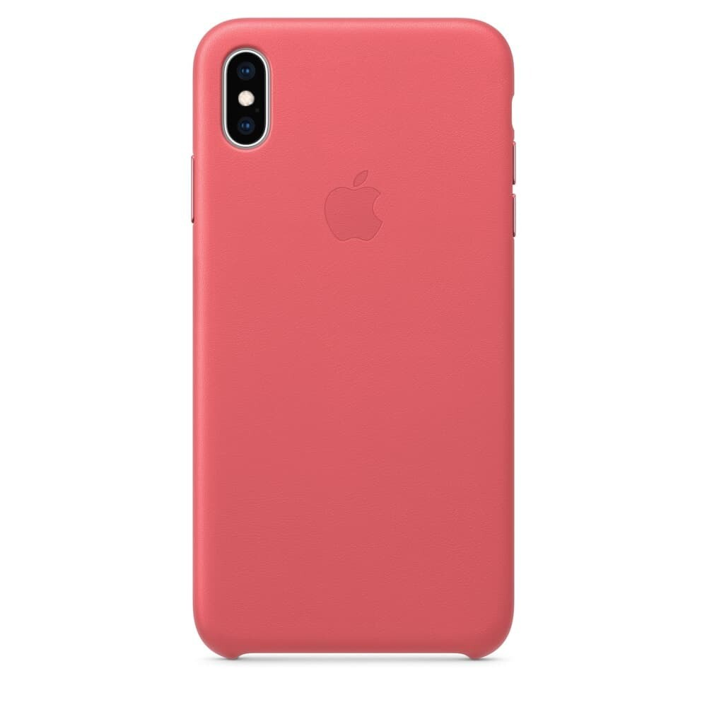 Estuche APPLE Original Cuero  Rosado (Peonny Pink) IPHONE XS (5.8)