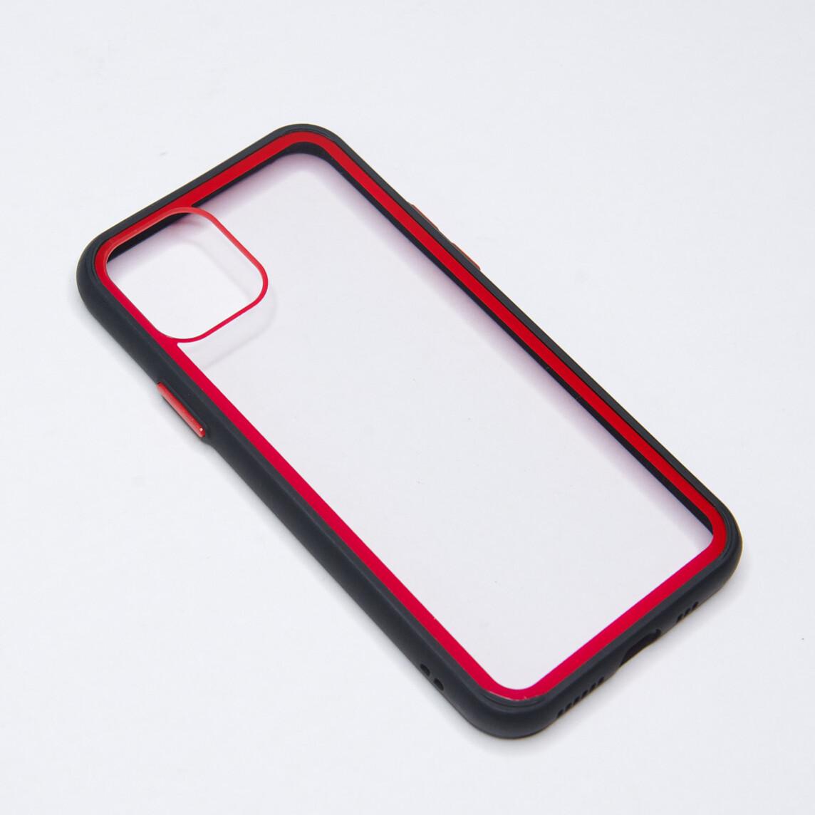 Estuche EL REY Marco De Color Negro Y Parte De Atras Transparente - Iphone 11 Pro Max