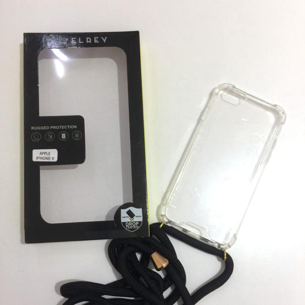 Estuche EL REY Hard Case Con Laso Negro  Iphone 6