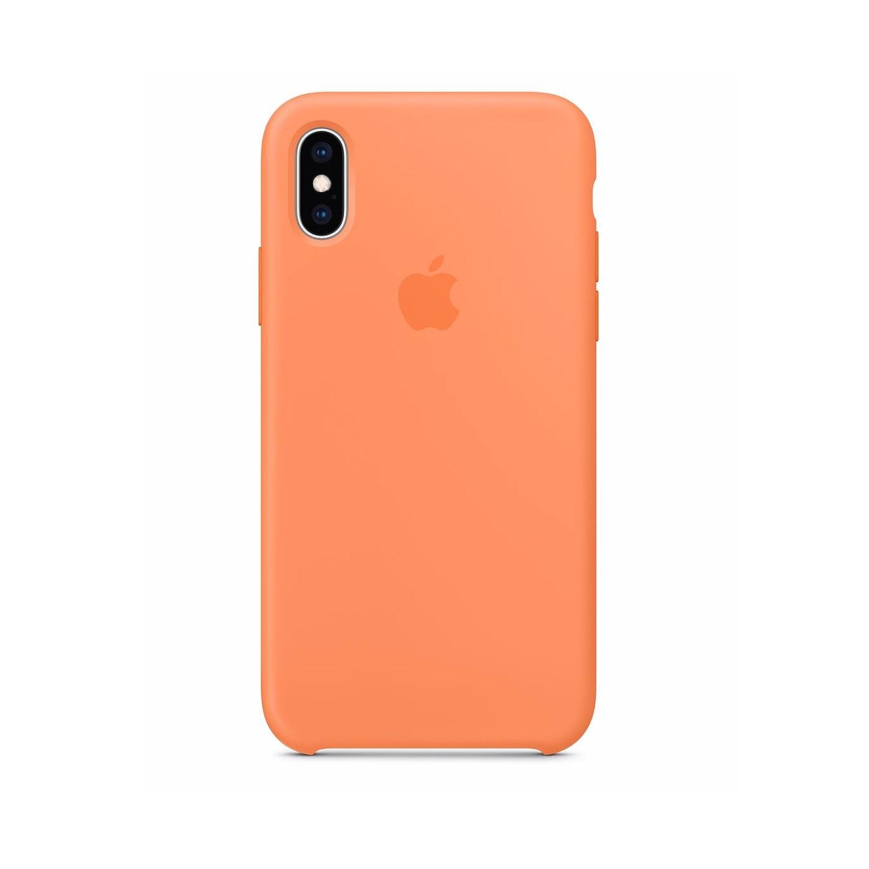Estuche APPLE Original (Papaya) - IPHONE XS (5.8)