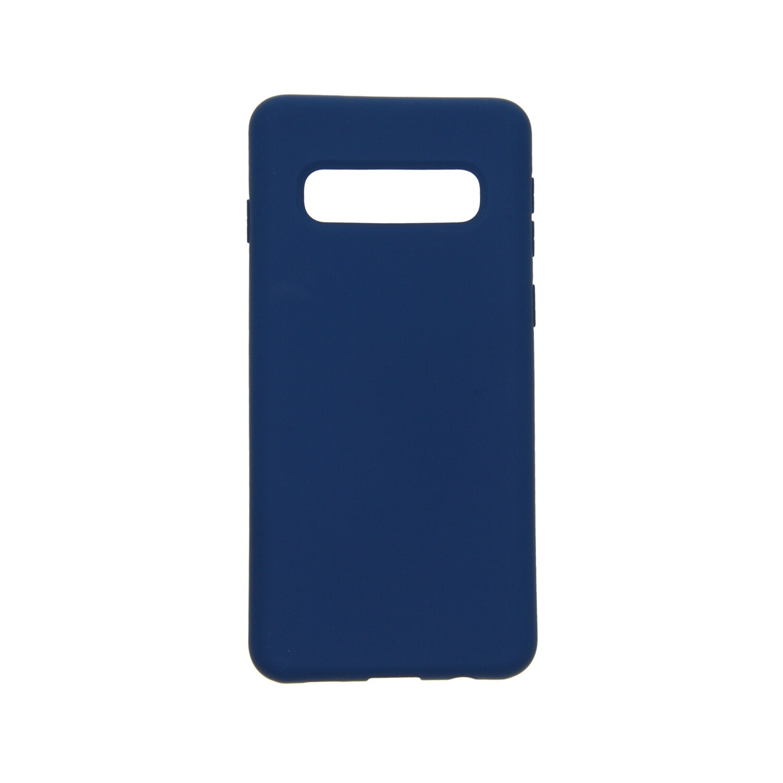 Estuche EL REY Silicon  Azul Marino S8 Plus