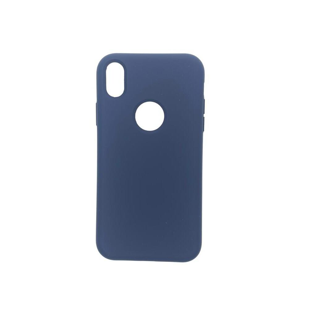 Estuche EL REY Silicon Azul  Iphone Xs Max