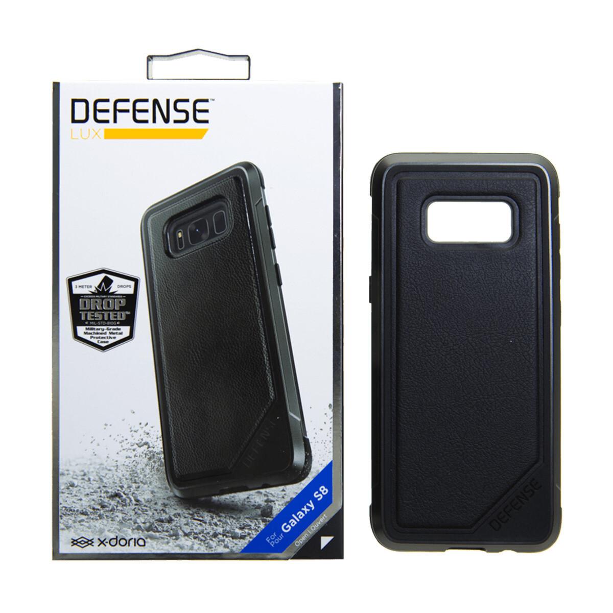 Estuche XDORIA Defense Lux Cuero Negro S8