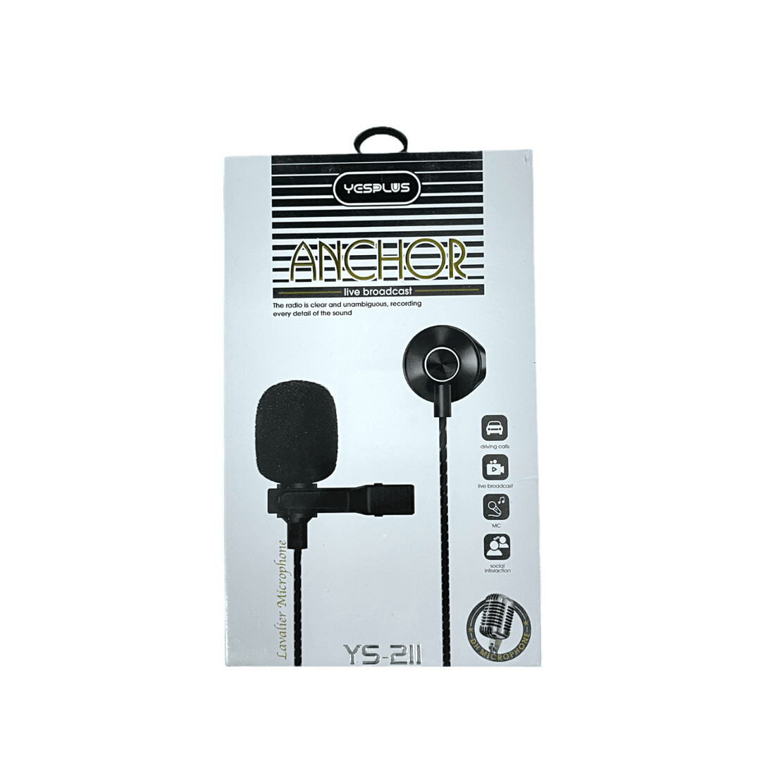 Audifonos YESPLUS Anchor headphone for Type-c / YS-211 TYPE C