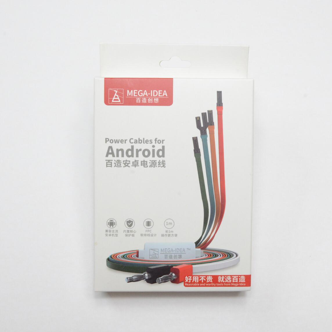 Kit de cables para android de mega idea