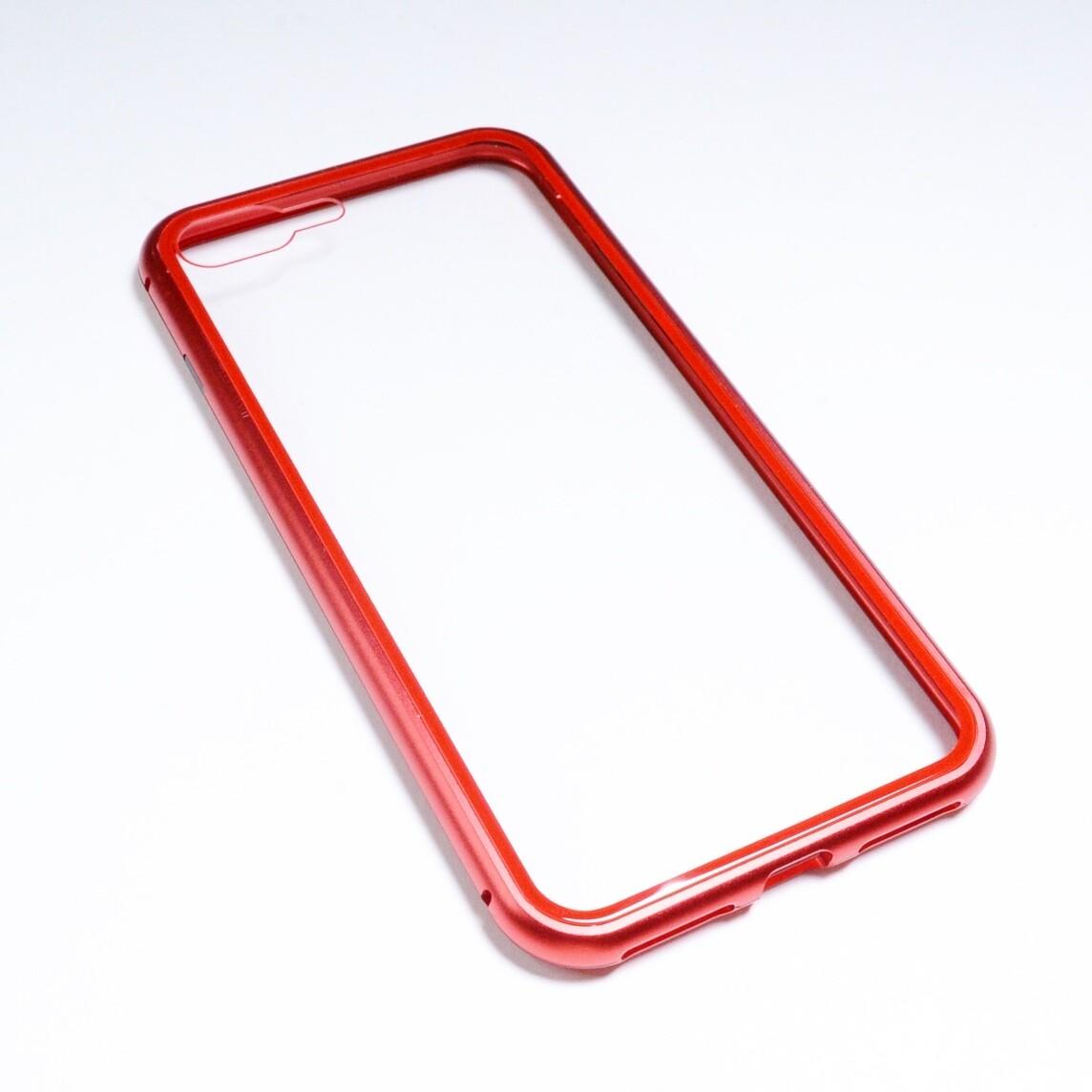 Estuche EL REY Magnetico Rojo Iphone 7 Plus