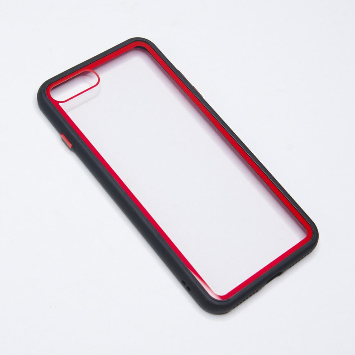 Estuche EL REY Marco De Color Negro Y Parte De Atras Transparente - Iphone 7 /8