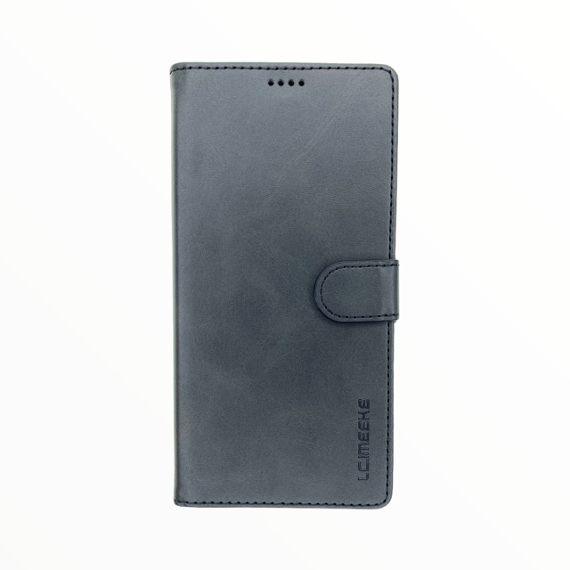 Estuche LC IMEEKE Libreta Con Porta Tarjeta Negro - Iphone X/Xs