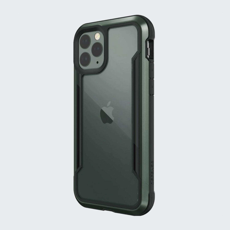 Estuche XDORIA X Doria Shield Verde Midnight - IPHONE 11 PRO (5.8)