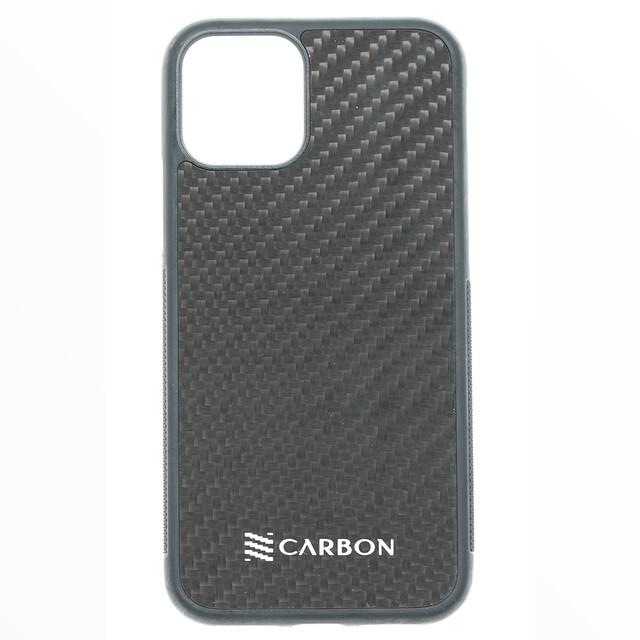 Estuche  Fibra De Carbon Real Negro - IPHONE 11 PRO (5.8)