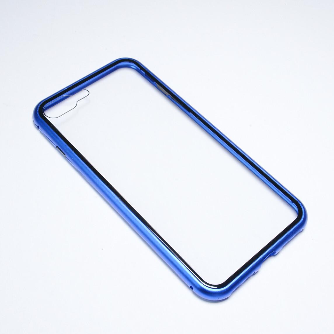 Estuche EL REY Magnetico Azul - Iphone 7 Plus