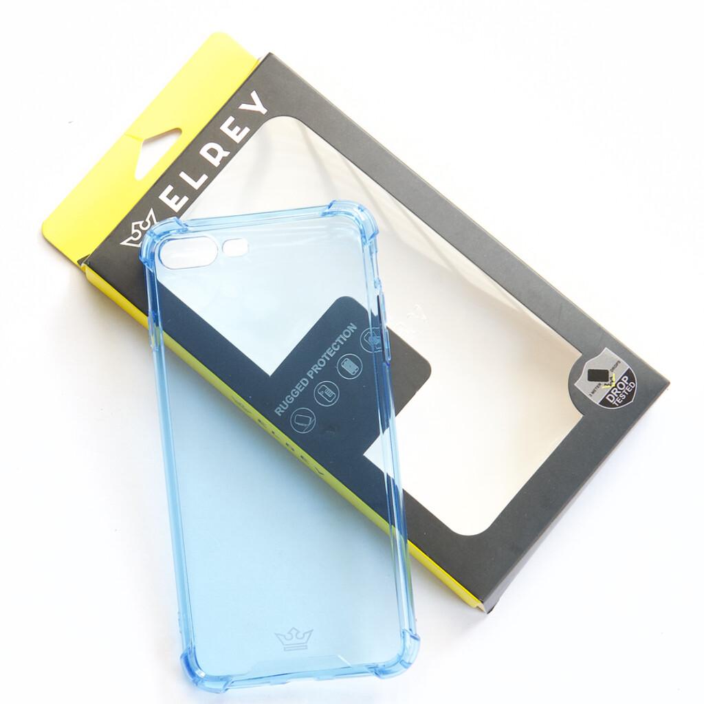 Estuche EL REY Hard Case Flexible Reforzado Celeste Iphone 7 Plus