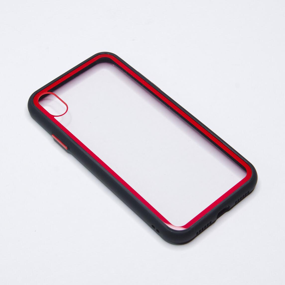 Estuche EL REY Marco De Color Negro Y Parte De Atras Transparente - Iphone Xs Max