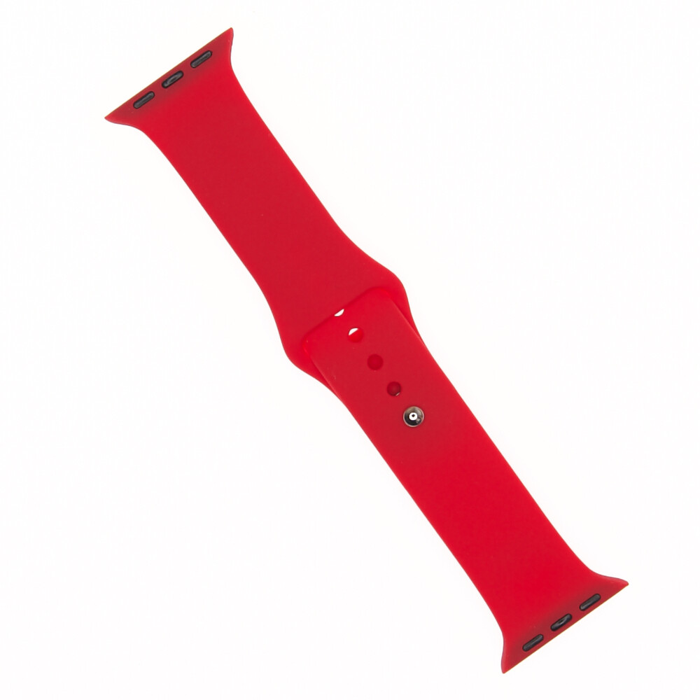 EL REY Pulsera Silicon  Rojo 42/44 Mm