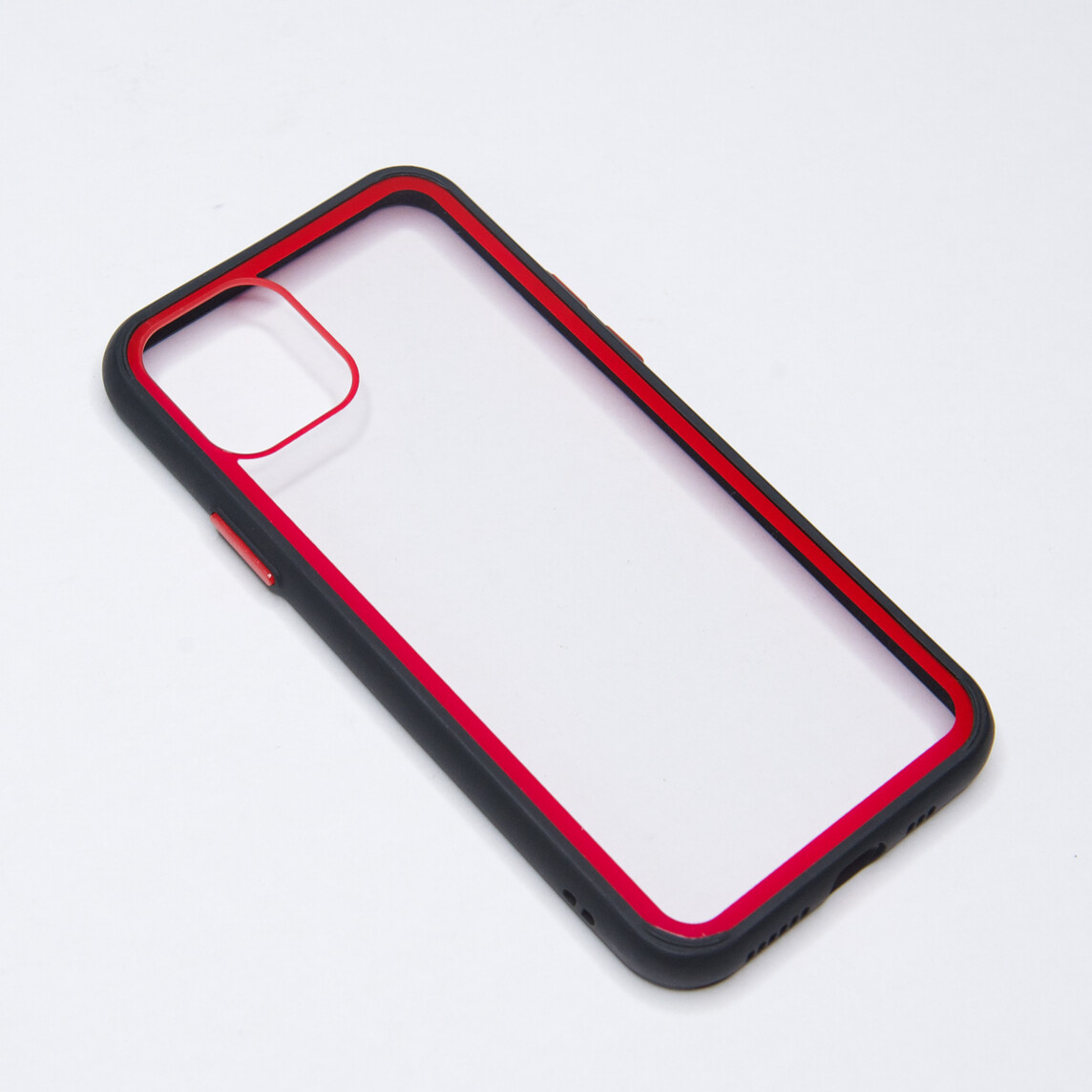Estuche EL REY Marco De Color Negro Y Parte De Atras Transparente - Iphone 11