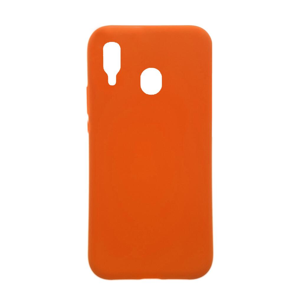 Estuche EL REY Silicon  Naranja  Linea A SAMSUNG A20 / A30