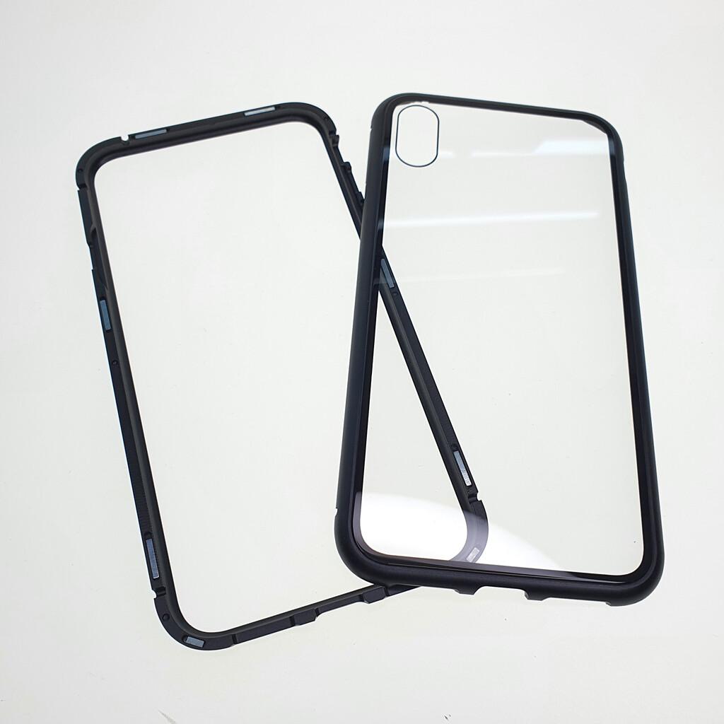 Estuche EL REY Magnetico Negro Iphone X - Xs-
