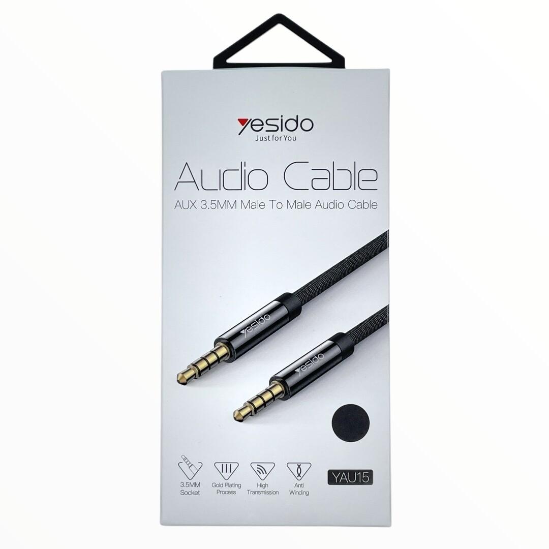 Cables GEN Cable auxiliar refrozado 3.5mm marca - YESIDO de 3 metros