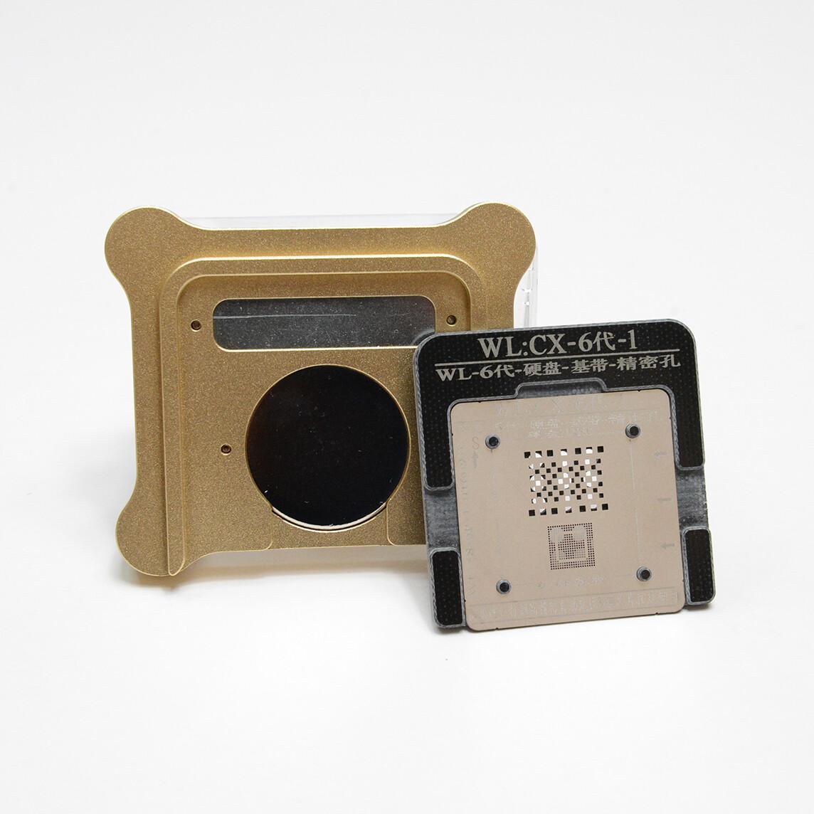 Stencil nand iPhone 6-6 plus con base magnetica