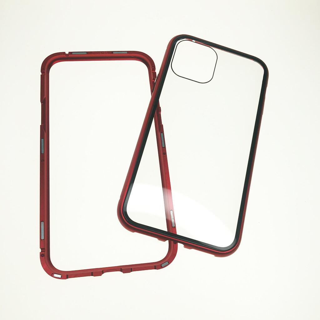 Estuche EL REY Magnetico Rojo Iphone 11-