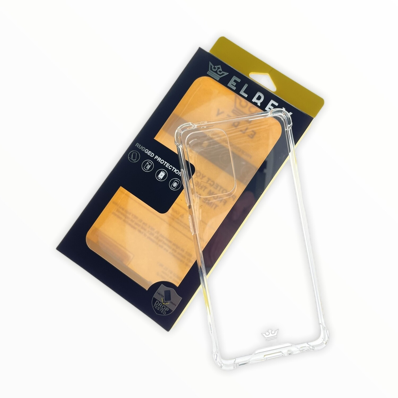 Estuche EL REY Hard Case Reforzado  Transparente  Samsung A52
