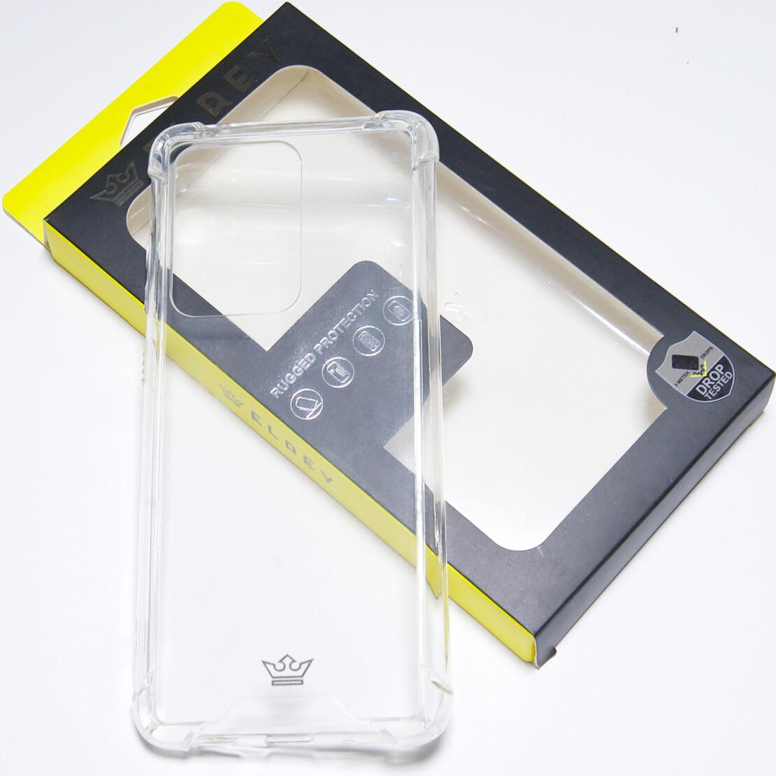 Estuche EL REY Hard Case Reforzado Transparente SAMSUNG S20 ULTRA